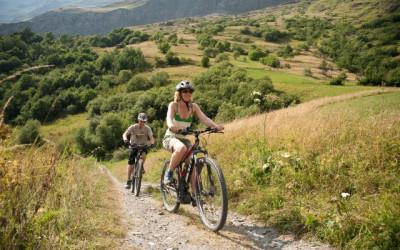 Vélo à assistance électrique à Bessans