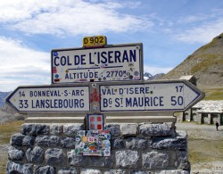 Col de l'Iseran cycling alps iseran vanoise