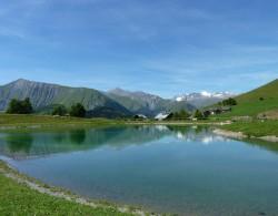 Col du Mollard Albiez Plan d'eau