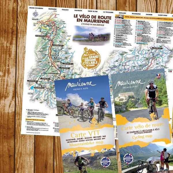 Carte vélo route et VTT - 2017