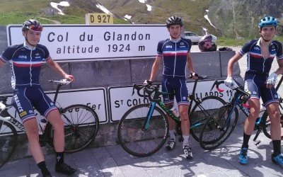 Juniors Route Homme  col du Glandon