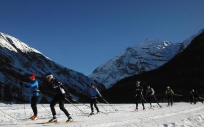 ski de fond à Bessans