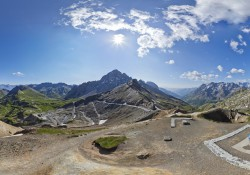 Col du Galibier cycling alps Maurienne