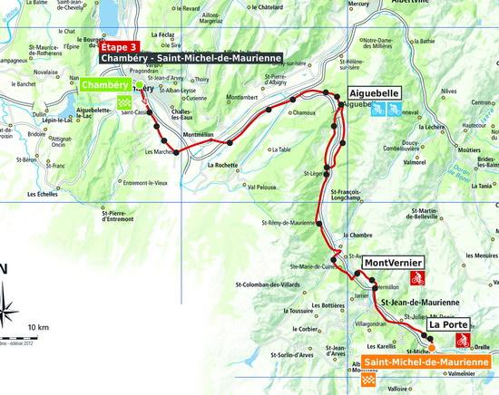 Actu le parcours du tour des pays de savoie 2015 d voil - St michel de maurienne office du tourisme ...