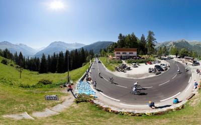 Panorama du Col du Télégraphe
