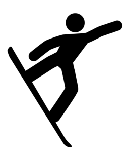 picto snowboard