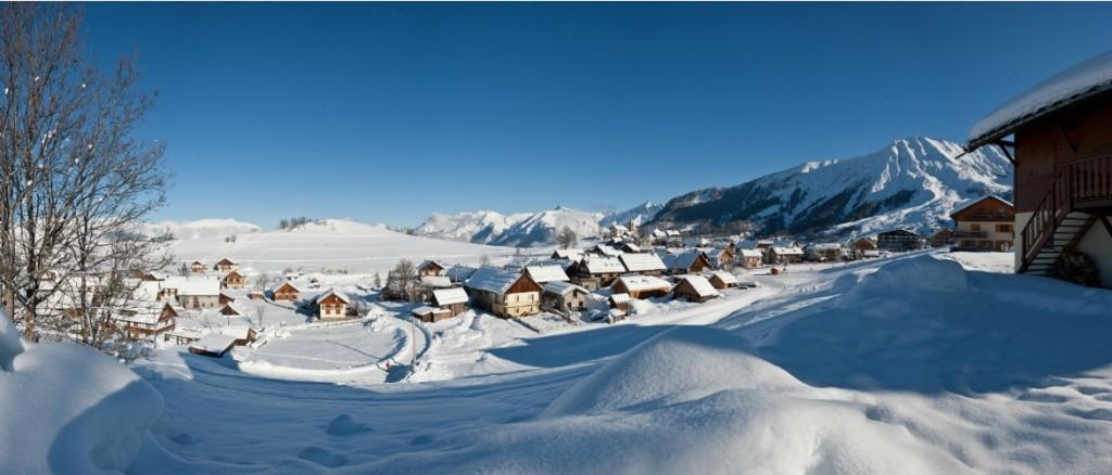 Albiez Maurienne ski ©Alban Pernet