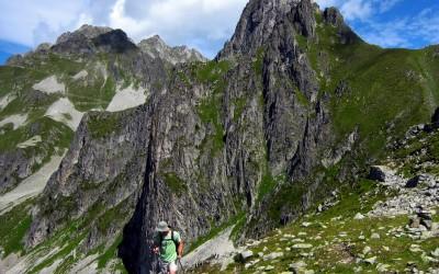 Sous le col montjoie  -Tour de Lauzière
