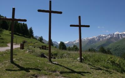 Les trois croix et balcons de Valloire