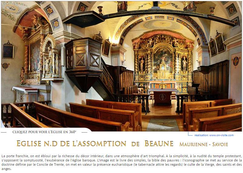 Beaune panneau accueil site Maurienne Tourisme 801x569