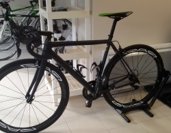 Vélo de compétition en révision