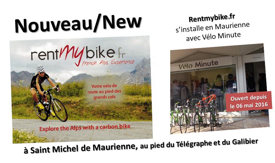[Info] Un nouveau shop vélo en Maurienne