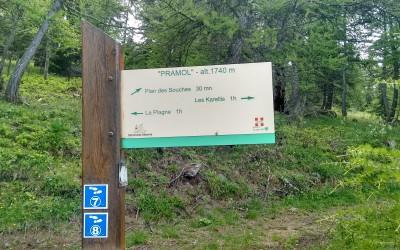 Sentier de découverte du Blanchon