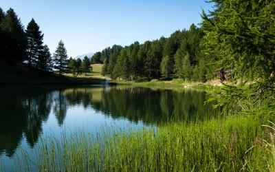 lac de pramol station des karellis ©alban pernet