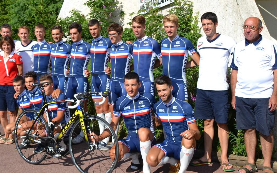 Stage de l'Équipe de France Route Espoir Homme