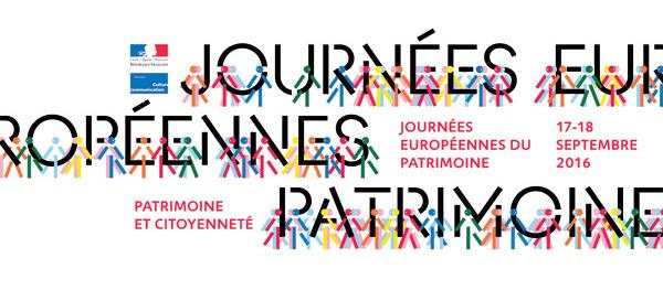 LES JOURNÉES EUROPÉENNES DU PATRIMOINE 2016