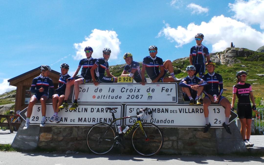 Les équipes FFC en stage en Maurienne !