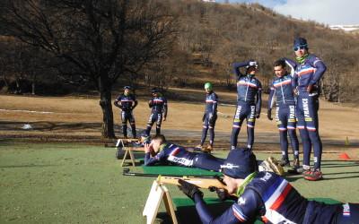 Biathlon à Valloire