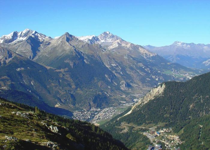 La montée de Valfréjus