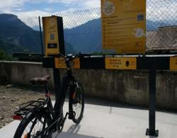 Vélo-station (VAE) en libre service à Montgellafrey et Montaimont