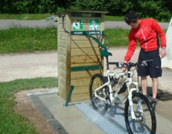 Station multiservices - lavage, gonflage