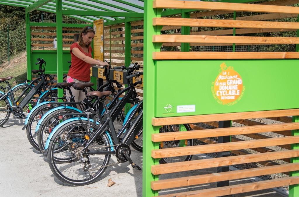 De nouveaux équipements cyclo en Maurienne