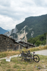Grimpée cycliste